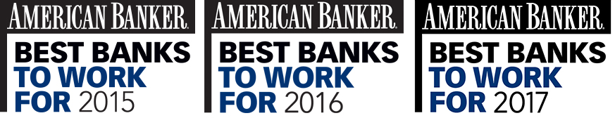 American Banker Best Banks to Work For 2015, 2016, 2017