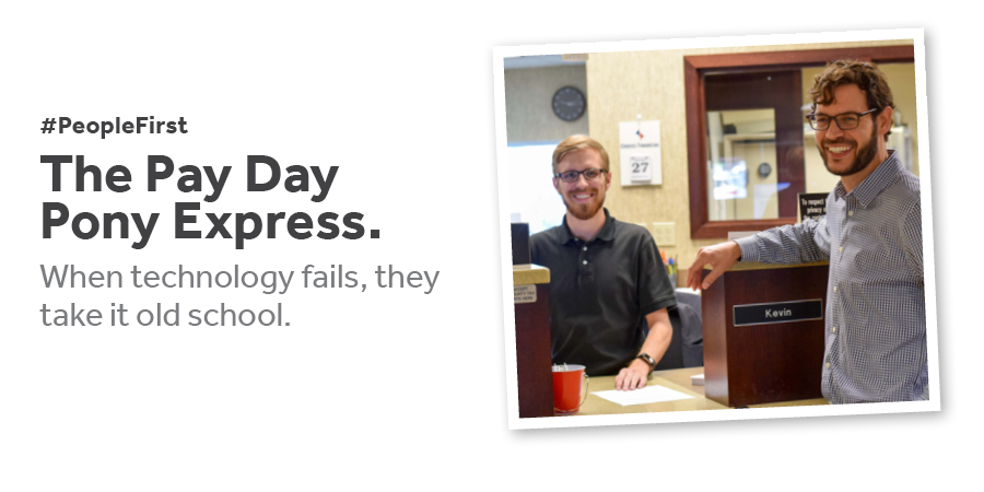 The Pay Day Pony Express - Read More