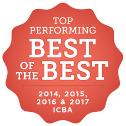Top Performing Best of the Best Badge