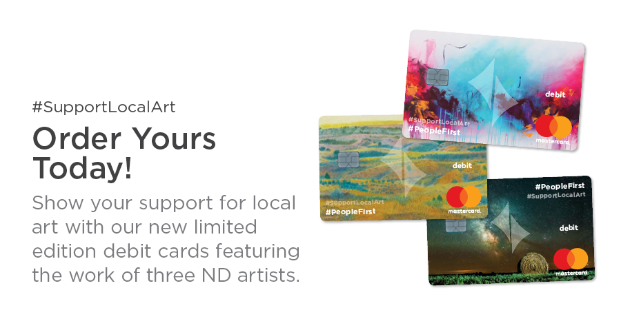 Learn more about #SupportLocalArt debit cards.